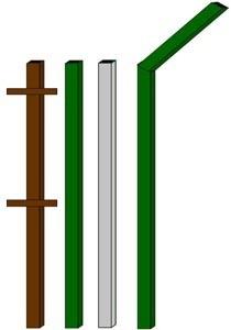 изготовление металлические столбы в Ленинск-Кузнецком